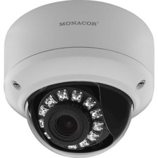 Monacor -IP dome kamera 2MP - INC-2812DV