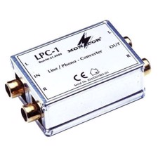 Monacor -Line/phono-adapter - LPC-1