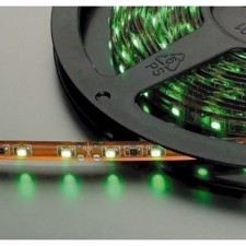 Monacor -LED-strip grøn 12V 5m - LEDS-5MP/GN