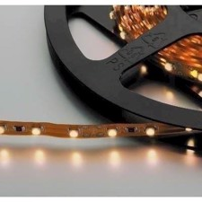 Monacor -LED-strip varm hvid 12V 5m - LEDS-5/WWS
