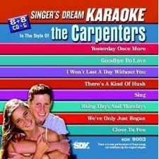 Carpenter's - Singer's Dream Karaoke CDG