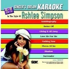 Ashlee Simpson - Singer's Dream Karaoke CDG