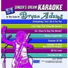 Bryan Adams - Singer's Dream Karaoke CDG