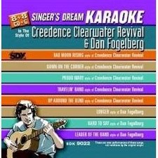 Creedence Clearwater - Singer's Dream Karaoke CDG