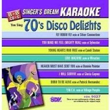 70s Disco Delights - Singer's Dream Karaoke CDG