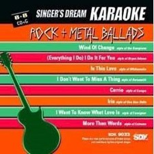 Rock And Metal Ballad - Singer's Dream Karaoke CDG