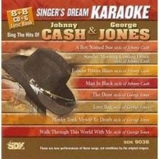 Johnny Cash & George - Singer's Dream Karaoke CDG