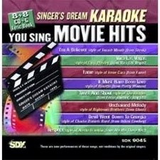 Movie Hits - Singer's Dream Karaoke CDG