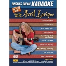 Avril Lavigne - Singer's Dream Karaoke DVD