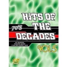 Hits Of The Decades Vol. 5 - 70s DVD