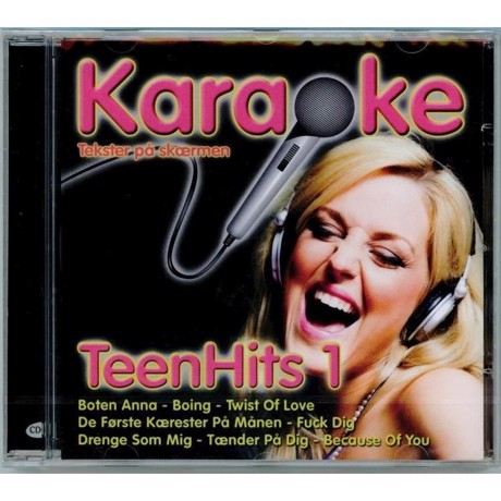 Restmarked. Danske CDG karaokeplader