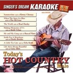 Todays Hot Country M - Singer\'s Dream Karaoke CDG