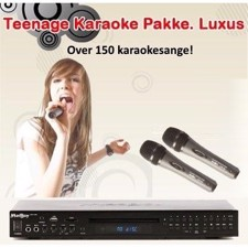 Teenage Karaoke Pakke. Luxus 2018