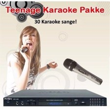 Teenage Karaoke Pakke 2018